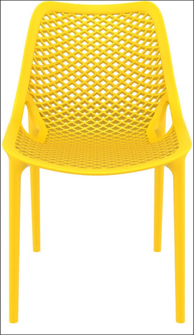 Compamia Air Outdoor Dining Chair Yellow ISP014-YEL - RestaurantFurniturePlus + Chairs, Tables and Outdoor - 3