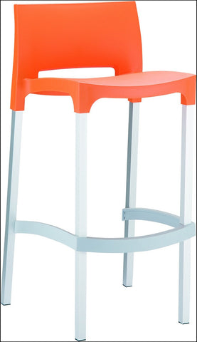 Compamia Gio Outdoor Barstool Orange ISP035-ORA - RestaurantFurniturePlus + Chairs, Tables and Outdoor - 1