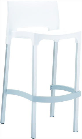 Compamia Gio Outdoor Barstool White ISP035-WHI - RestaurantFurniturePlus + Chairs, Tables and Outdoor - 1