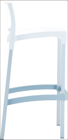 Compamia Gio Outdoor Barstool White ISP035-WHI - RestaurantFurniturePlus + Chairs, Tables and Outdoor - 3
