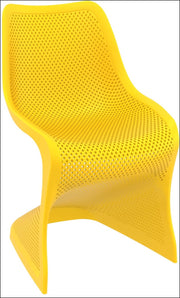 Compamia Bloom Dining Chair Yellow ISP048-YEL - RestaurantFurniturePlus + Chairs, Tables and Outdoor - 1