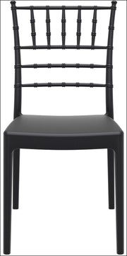Compamia Josephine Outdoor Dining Chair Black ISP050-BLA - RestaurantFurniturePlus + Chairs, Tables and Outdoor - 3