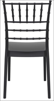Compamia Josephine Outdoor Dining Chair Black ISP050-BLA - RestaurantFurniturePlus + Chairs, Tables and Outdoor - 5