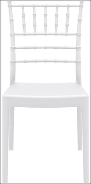 Compamia Josephine Outdoor Dining Chair White ISP050-WHI - RestaurantFurniturePlus + Chairs, Tables and Outdoor - 3