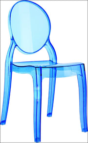 Compamia Baby Elizabeth Kids Chair Transparent Blue ISP051-TBLU - YourBarStoolStore + Chairs, Tables and Outdoor  - 1