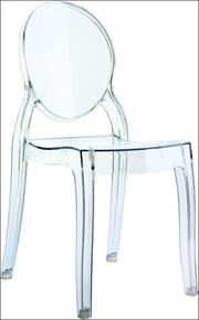 Compamia Baby Elizabeth Kids Chair Transparent Clear ISP051-TCL - YourBarStoolStore + Chairs, Tables and Outdoor  - 1
