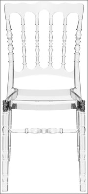 Compamia Opera Polycarbonate Dining Chair Transparent Clear ISP061-TCL - YourBarStoolStore + Chairs, Tables and Outdoor  - 2