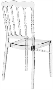 Compamia Opera Polycarbonate Dining Chair Transparent Clear ISP061-TCL - YourBarStoolStore + Chairs, Tables and Outdoor  - 5