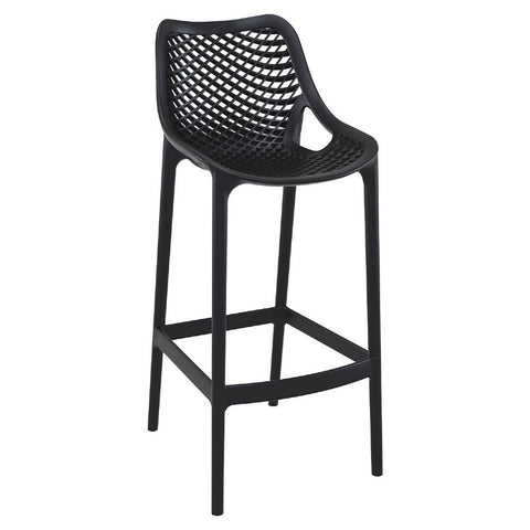 Compamia Air Bar Stool Black ISP068-BLA - RestaurantFurniturePlus + Chairs, Tables and Outdoor - 1