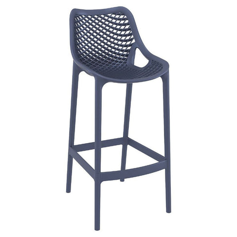 Compamia Air Bar Stool Dark Gray ISP068-DGR - RestaurantFurniturePlus + Chairs, Tables and Outdoor - 1
