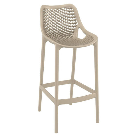 Compamia Air Bar Stool Dove Gray ISP068-DVR - RestaurantFurniturePlus + Chairs, Tables and Outdoor - 1