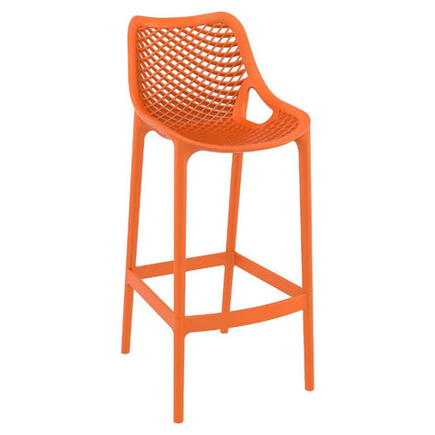 Compamia Air Bar Stool Orange ISP068-ORA - RestaurantFurniturePlus + Chairs, Tables and Outdoor - 1