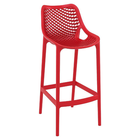 Compamia Air Bar Stool Red ISP068-RED - RestaurantFurniturePlus + Chairs, Tables and Outdoor - 1