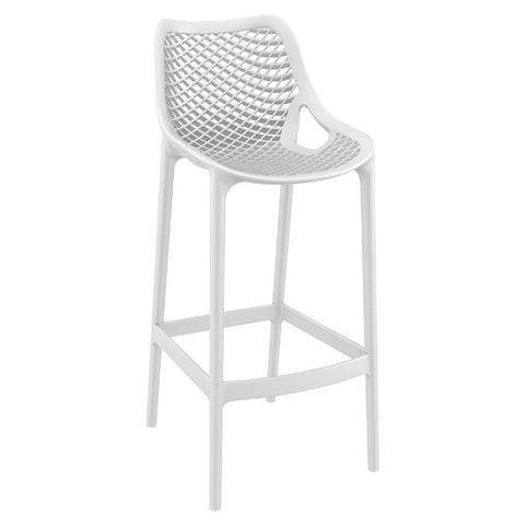Compamia Air Bar Stool White ISP068-WHI - RestaurantFurniturePlus + Chairs, Tables and Outdoor - 1