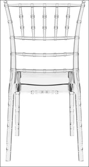 Compamia Chiavari Polycarbonate Dining Chair Transparent Clear ISP071-TCL - YourBarStoolStore + Chairs, Tables and Outdoor  - 3