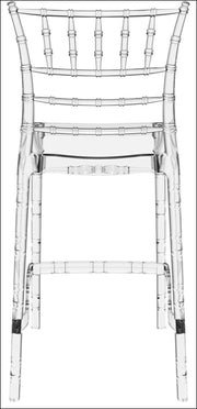 Compamia Chiavari Polycarbonate Counter Stool Transparent Clear ISP084-TCL - YourBarStoolStore + Chairs, Tables and Outdoor  - 2