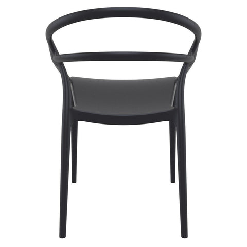 Compamia Mila Dining Arm Chair Black ISP085-BLA - RestaurantFurniturePlus + Chairs - 5