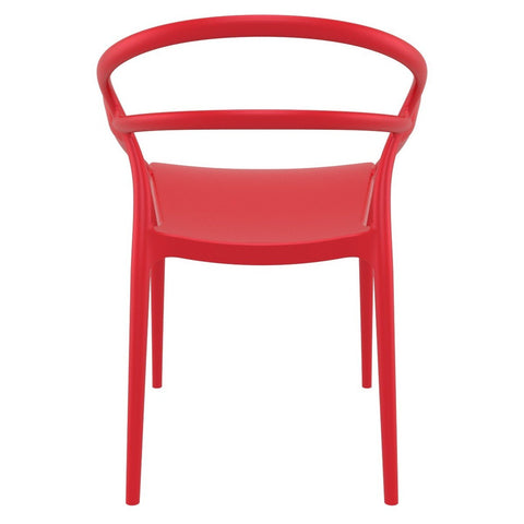 Compamia Mila Dining Arm Chair Red ISP085-RED - RestaurantFurniturePlus + Chairs - 5