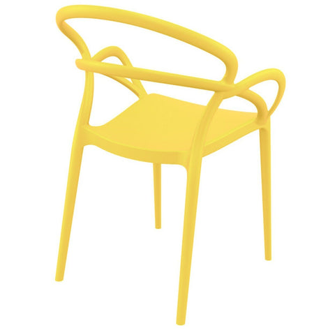 Compamia Mila Dining Arm Chair Yellow ISP085-YEL - RestaurantFurniturePlus + Chairs - 3