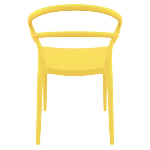 Compamia Mila Dining Arm Chair Yellow ISP085-YEL - RestaurantFurniturePlus + Chairs - 2