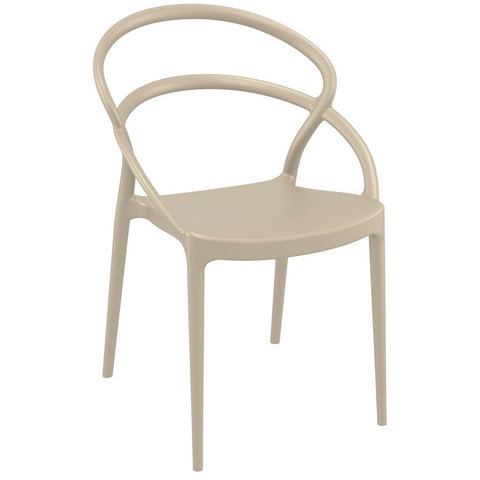 Compamia Pia Dining Chair Dove Gray ISP086-DVR - RestaurantFurniturePlus + Chairs - 1