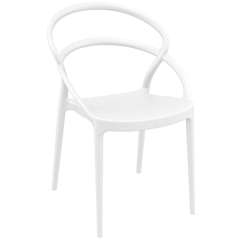 Compamia Pia Dining Chair White ISP086-WHI - RestaurantFurniturePlus + Chairs - 1