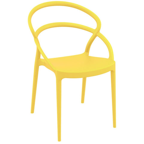 Compamia Pia Dining Chair Yellow ISP086-YEL - RestaurantFurniturePlus + Chairs - 1