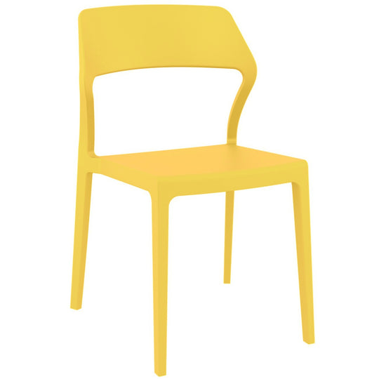 Compamia Snow Dining Chair Yellow ISP092-YEL - RestaurantFurniturePlus + Chairs - 1