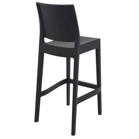 Compamia Maya Resin Barstool Black ISP099-BLA - RestaurantFurniturePlus + Barstools - 4