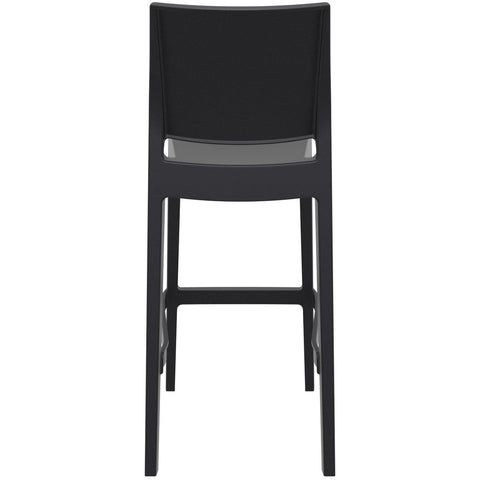 Compamia Maya Resin Barstool Black ISP099-BLA - RestaurantFurniturePlus + Barstools - 5