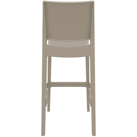 Compamia Maya Resin Barstool Dove Gray ISP099-DVR - RestaurantFurniturePlus + Barstools - 5