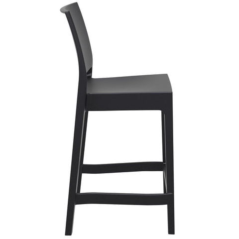 Compamia Maya Resin Counter Stool Black ISP100-BLA - RestaurantFurniturePlus + Barstools - 2