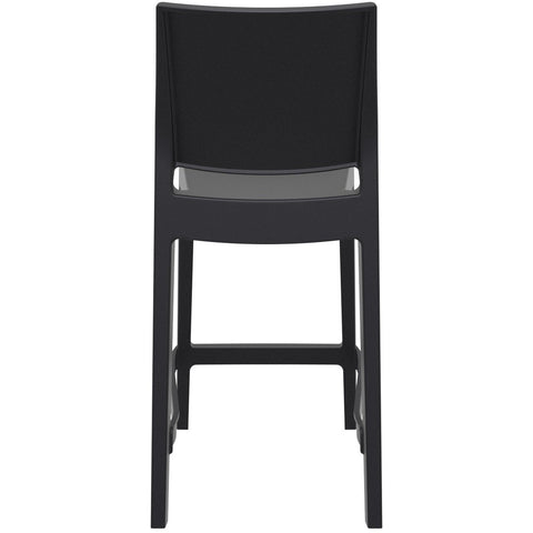 Compamia Maya Resin Counter Stool Black ISP100-BLA - RestaurantFurniturePlus + Barstools - 5