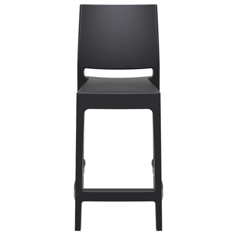 Compamia Maya Resin Counter Stool Black ISP100-BLA - RestaurantFurniturePlus + Barstools - 3