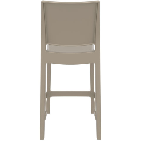 Compamia Maya Resin Counter Stool Dove Gray ISP100-DVR - RestaurantFurniturePlus + Barstools - 5