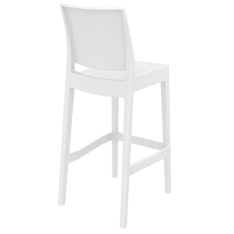 Compamia Maya Resin Counter Stool White ISP100-WHI - RestaurantFurniturePlus + Barstools - 4