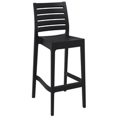 Compamia Ares Resin Barstool Black ISP101-BLA - RestaurantFurniturePlus + Barstools - 1