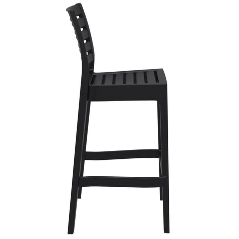 Compamia Ares Resin Barstool Black ISP101-BLA - RestaurantFurniturePlus + Barstools - 2