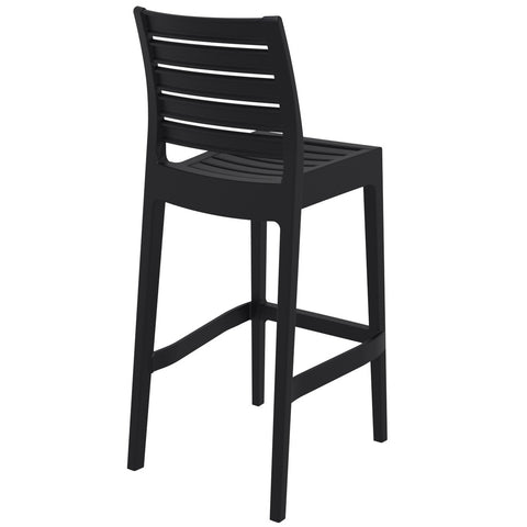Compamia Ares Resin Barstool Black ISP101-BLA - RestaurantFurniturePlus + Barstools - 4