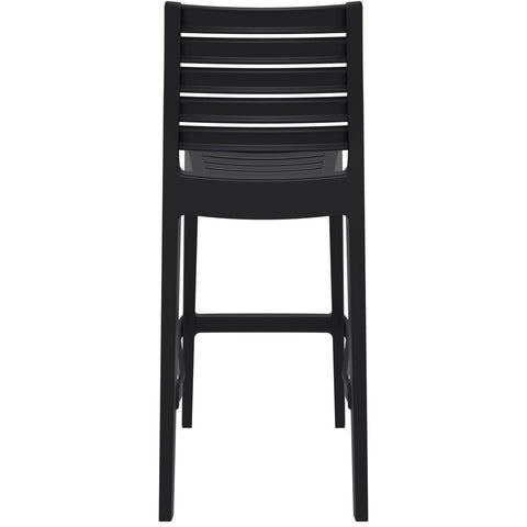Compamia Ares Resin Barstool Black ISP101-BLA - RestaurantFurniturePlus + Barstools - 5