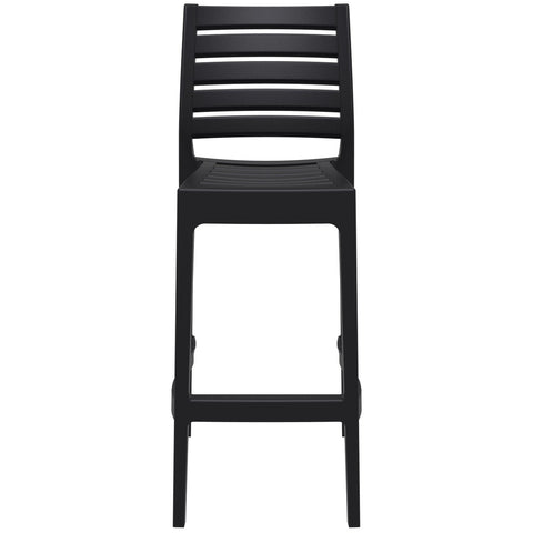 Compamia Ares Resin Barstool Black ISP101-BLA - RestaurantFurniturePlus + Barstools - 3