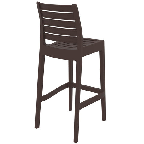 Compamia Ares Resin Barstool Brown ISP101-BRW - RestaurantFurniturePlus + Barstools - 4