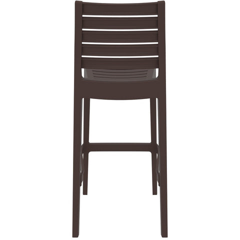 Compamia Ares Resin Barstool Brown ISP101-BRW - RestaurantFurniturePlus + Barstools - 5