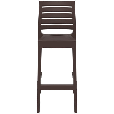 Compamia Ares Resin Barstool Brown ISP101-BRW - RestaurantFurniturePlus + Barstools - 3