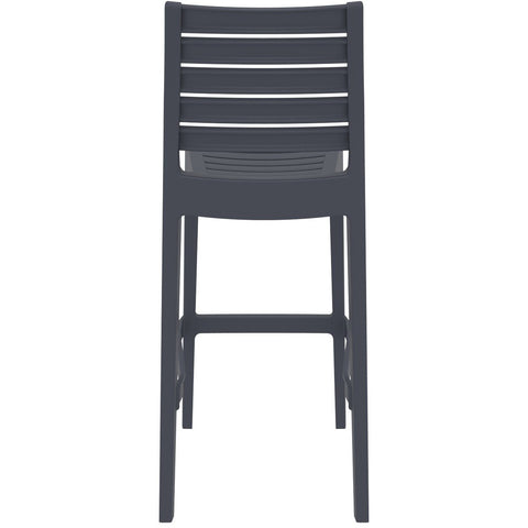 Compamia Ares Resin Barstool Dark Gray ISP101-DGR - RestaurantFurniturePlus + Barstools - 5