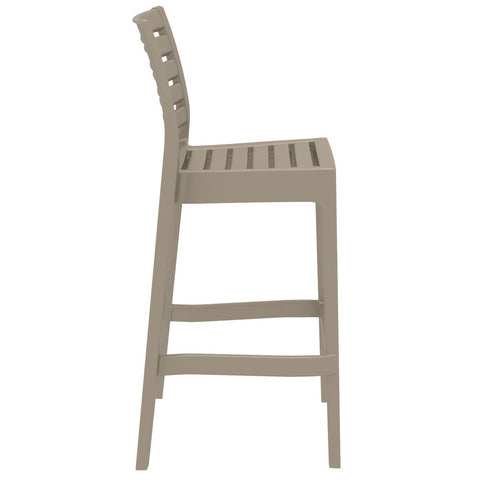 Compamia Ares Resin Barstool Dove Gray ISP101-DVR - RestaurantFurniturePlus + Barstools - 2