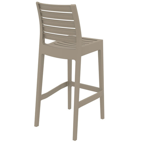 Compamia Ares Resin Barstool Dove Gray ISP101-DVR - RestaurantFurniturePlus + Barstools - 4
