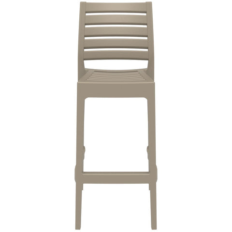 Compamia Ares Resin Barstool Dove Gray ISP101-DVR - RestaurantFurniturePlus + Barstools - 3