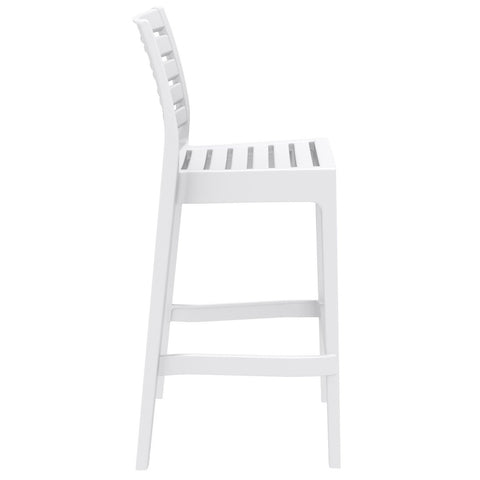 Compamia Ares Resin Barstool White ISP101-WHI - RestaurantFurniturePlus + Barstools - 2