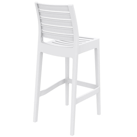 Compamia Ares Resin Barstool White ISP101-WHI - RestaurantFurniturePlus + Barstools - 4